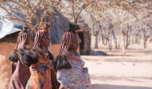 Himba village in Namibia